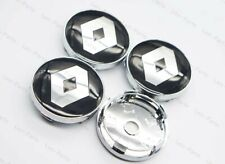 4Pcs 60mm Car Parts Wheel Center Hub Caps Badge Rim Dust Cover Logo for Renault