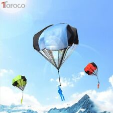 2XHand Throwing Kids Mini Play Parachute Toy Soldier Outdoor Sports Children Toy