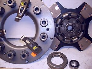 """FITS ALLIS WD WD45 WC WF 226 POWER UNIT 10"""" TRACTOR CLUTCH Kit  with 4 pad"""