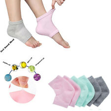 Moisturizing Gel Heel SocksFoot Care Dry Cracked Feet Skin Treatment Toeless