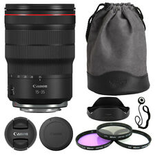 Canon RF 15-35mm f/2.8L IS USM Lente + Kit de accesorios de lujo