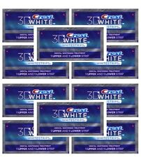 CREST 3D Advanced Vivid Whitestrips Teeth White Strips Dental - 20 stripes