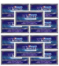 CREST 3D Advanced Vivid Whitestrips Teeth White Strips Dental - 20 stripes