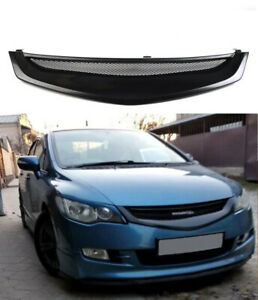 Front grill Mugen for Honda Civic sedan05-08radiator tuning sport mesh grille KL