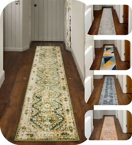 Moroccan Hallway Runner Rugs for Long Entrance Hall Mats Distressed Traditional