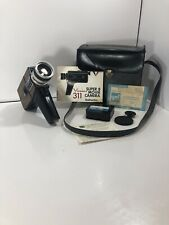 Vintage Super 8 Movie Camera Viceroy 311 With Instructions, Case Etc. FAST SHIPP