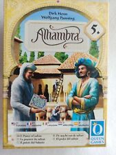 Palace Alhambra Power of the Sultan expansion 5 ENGLISH + other languages