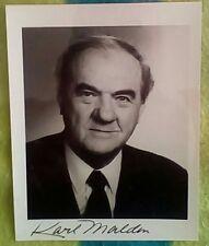 Karl Malden (22.03.1912-01.07.2009) Original-Autogramm auf Foto