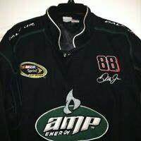WINNERS CIRCLE NASCAR Green Drivers Jacket Sz 2XL Dale Earnhardt Jr 88 Amp Energ
