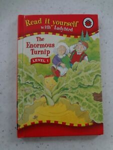 Ladybird Book. Read it Yourself Book. The Enormous Turnip. Level 1.  (2006)  5,
