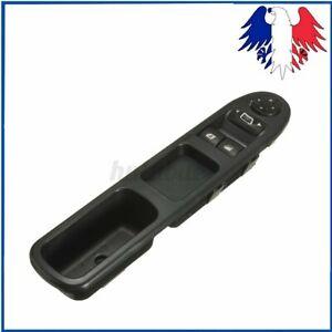 Interrupteur Bouton Lève-Vitre Rétroviseur pour Peugeot 207 6554.QC 6554QC