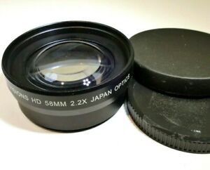 58mm lens AUX 2.2X Telephoto Digital Visions HD