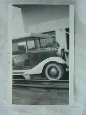 Vintage Photo 1933 Chevrolet Custom Surrey Torrance CA BPOE Elks Parade Car 794
