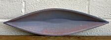 EMILY MYERS- STUDIO POTTERY BOAT SHAPE BOWL DISH -ART IN ACTION 1992 EXHIBITION?