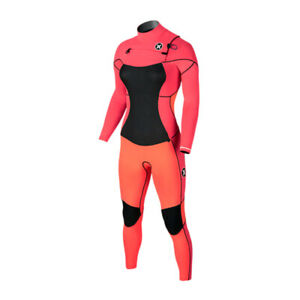New $400 Women's Hurley Phantom 303 Wetsuit 3mm Full Suit Lava Glow Size 6 14