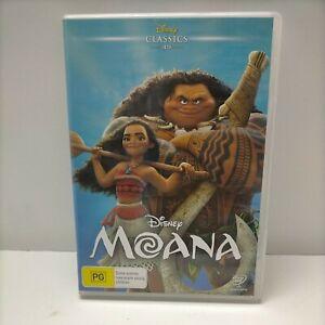 Disney Moana DVD Kids Animated Movie PAL Free Postage