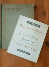 More details for 1898 macbeth royal lyceum theatre london forbes robertson