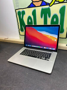 "Apple MacBook Pro Retina 15.4"" 2.2Ghz i7 16GB RAM 256GB SSD A1398 2014 BIG SUR"