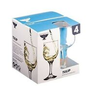 4 x Rayware Tulip White Wine Glasses - 20cl