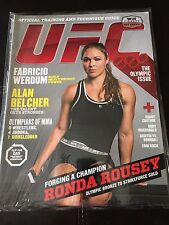 UFC MAGAZINE #16 August/September 2012 Dan Henderson/Ronda Rousey Double Cover