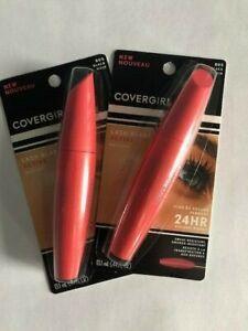 Lot of 2, Covergirl Lash Blast Active Mascara, 805 Black