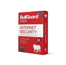 Bullguard Internet Security Antivirus 2020 - 3 DEVICE / 1 YEAR License