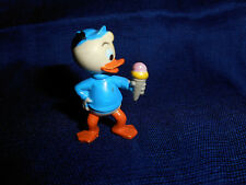 Dewey Ice Cream Blue Nephew Donald Duck Kinder Surprise Plastic Figurine Disney