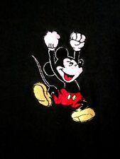 MICKEY MOUSE hooray chant med T shirt Disney hoot n holler tee embroidery