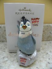 Hallmark 2012 Erik Finds His Groove Happy Feet 2 Penguin Christmas Ornament