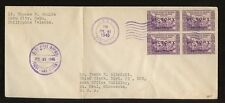 PHILIPPINES 1945 FIRST DAY COVER...VICTORY BLOCK...CEBU POST OFFICE CANCEL