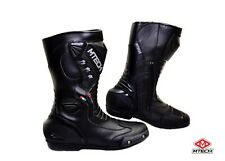 MTECH Motorcycle Boots Shoes Water Proof Sports Motorbike Leather Shoes RSX-6