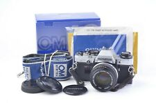 EXC+++ OLYMPUS OM-10 35mm SLR w/50mm F1.8 LENS, BOX, VERY CLEAN, TESTED, NICE!