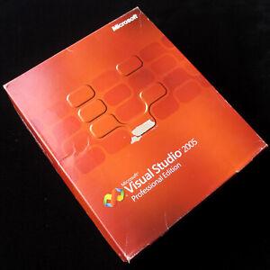 Microsoft Visual Studio 2005 Professional C5E-00001 Full UK DVD Retail box, MSDN
