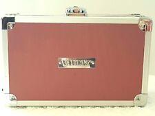 VAULTZ PERSONAL LOCKBOX PINK PENCIL BOX 8.25 x 5 INSIDE DIVIDER & STORAGE