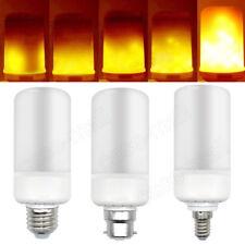 E27/E14/B22 LED Burning Light Flicker Flame Lamp Bulb Fire Effect Decorative