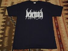 BEHEMOTH logo SHIRT S,The Chasm,Enslaved,Antaeus,Silencer,Deathspell Omega,Seth