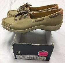 NIB Keds Rapture Nubuck Loafers Flats Slip On Boat shoes Women Size 8m WH39428 |