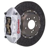 Brembo CCMR BBK for 09-19 GranTurismo  | Rear 4pot Silver 2P9.8005A3