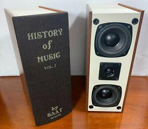 SAAT REF-303BK Stanford Acoustics Bookshelf Speakers History of Music Volume 1