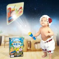 Fairy Tales Sleeping Story Light Projector Flashlight Toys Kids Educational Toy