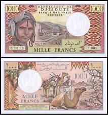 Djibouti 1000 Francs P37e
