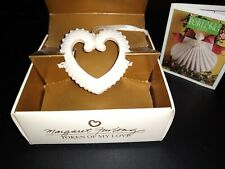 "Margaret Furlong Heart Ornament ""Token of My Love"" 2000 Nib with Insert Booklet"