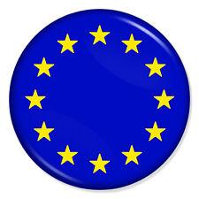 "EU EUROPEAN UNION FLAG 25mm 1"" Pin Badge BREXIT UK REFERENDUM"