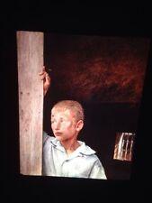 """Andrew Wyeth """"Boy In Doorway"""" American Regionalism Realism Art 35mm Slide"""