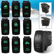 5-Pin Bar ARB Push Button Driving Dual Rocker Toggle Switch LED Work Light Car