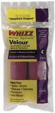 Work Tools International 51012 4-Inch Whizz Paint Roller Cover, Velour Fine Fini