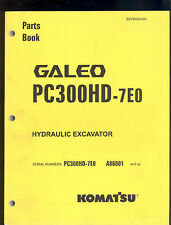 KOMATSU HYDRAULIC EXCAVATOR  PC300HD - 7EO PARTS MANUAL