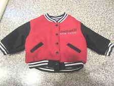 American Girl Doll New York Doll Size Varsity Letterman's Jacket Black Red Coat