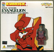 EVANGELION KUBRICK SET EVA-02 PRODUCTION MODEL; Brand New MEDKUB017 Asuka Israfe