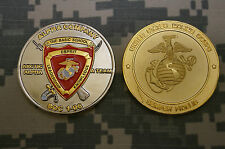 Challenge Coin US Marine Corps Alpha Co The Basic School BOC 1-06 Arctic Alpha